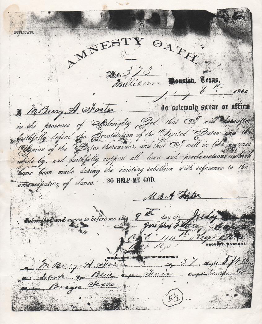 Amnesty Oath